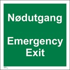 Nødutgang/Emergency Exit