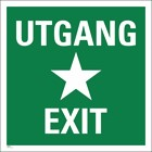 Utgang/Exit